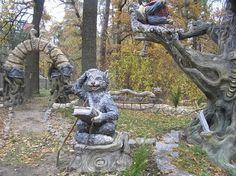Vladimir Kolesnikov's sculpture of concrete