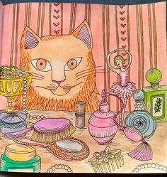 Livro gato mania #gato #colorir #mania #color #cat Colouring, Coloring Books, Cat Colors, Scrapbook Pages, Mindfulness, Animals, Coloring Book Chance, Books, Gatos