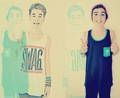 Sam & Kian...yes I love you:D