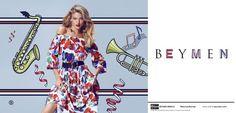 Fantasy Fashion Design: Martha Hunt destaca en la colorida campaña de Beymen primavera-verano 2017