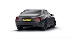 The new Bentley Flying Spur V8 S Black Edition
