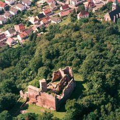 <b>Hohenecken</b> Castle Ruins, <b>Hohenecken Germany</b>.....yeah, I walked up ...