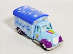 TOMICA Disney Motors Die-cast Vehicle TRUCK FROZEN Princess Anna and Elsa Blue
