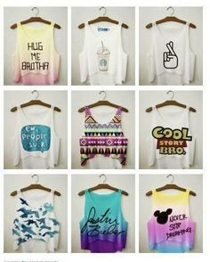 tank tops minus the justin beiber one