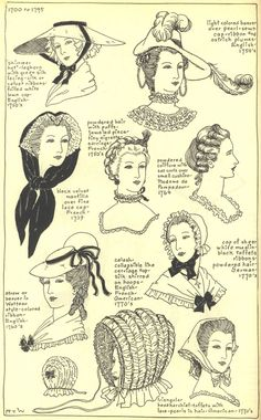 18thcenturyhatswomens1770-1776.jpg Photo:  This Photo was uploaded by Idzit. Find other 18thcenturyhatswomens1770-1776.jpg pictures and photos or upload ...