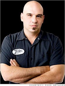 Chef Michael Symon-Cute and down to earth! Has that midwestern charm!!!