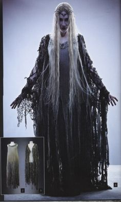 Dear I Dread I've Simply Lost My Head, mistergandalf:   Galadriel's Dol Guldur costume...