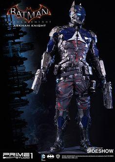 DC Comics Arkham Knight Polystone Statue by Prime 1 Studio Batman Arkham Origins, Batman Arkham Knight, Batman Vs, Superman, Marvel Dc Comics, Batman Suit, Harley Quinn, Statues, Batman Redesign