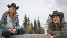 10 x 14 Amy and Scott watching something going on Canada: NEW episode Sunday, Feb 19 - Heartland