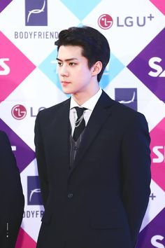 [HQ] [161226] SEHUN @SBS GAYO DAEJUN ♥ All credits as tagged on pic ♥ Thanks Sehun's fansite master-nim for these precious photos. Please take out with full credits