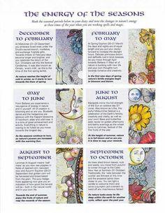 Magickal Timing | The Energy of the Seasons