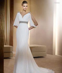 Unique off white weeding gowns | Vestidos de Noiva Estilo Grego