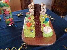 Willy Wonka birthday party cake