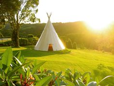 backyard teepee from the Coorabella estate http://www.realestate.com.au/property-house-nsw-coorabell-107335582