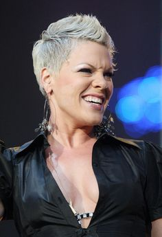 P!nk... I love her hair! Something like this would look good on mom