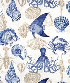 Shop Richloom Outdoor Sea Life Marine Fabric at onlinefabricstore.net for $8.95/ Yard. Best Price & Service.