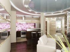 Дизайн-проект квартиры в Москве, Сиреневый бульвар: интерьер, зd визуализация, квартира, дом, гостиная, современный, модернизм, 50 - 80 м2, интерьер #interiordesign #3dvisualization #apartment #house #livingroom #lounge #drawingroom #parlor #salon #keepingroom #sittingroom #receptionroom #parlour #modern #50_80m2 #interior arXip.com