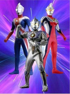 Ultraman Legend Galaxy Wolf, Japanese Superheroes, Handmade Birthday Gifts, Galaxy Theme, Andromeda Galaxy, The Big Four, Kamen Rider, School Fashion, Painting For Kids