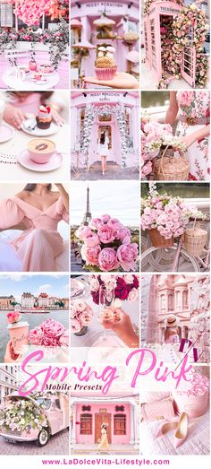 Spring Pink - 3 Mobile Lightroom Presets #lightroompresets Pink Photography, Creative Portrait Photography, Natural Light Photography, Headshot Photography, Summer Photography, Flash Photography, Creative Portraits, Photography Tutorials, Beauty Photography
