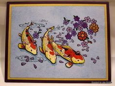 Creations by Patti: Koi Card
