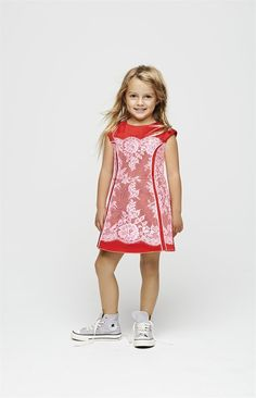 Be my Valentine!  Love overboard.   Spunky & sophisticated, Little Marc Jacobs SS14 (and wearable through Spring)
