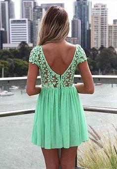 Splended angel lace lime dress from LullaBellz