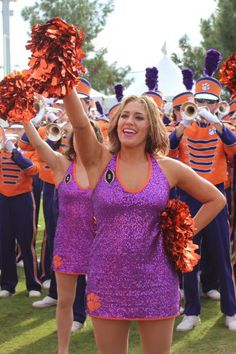 Congrats to the Clemson Tigers on their National Championship Win! Clemson Tiger Dancers college dance team cheer uniforms