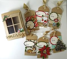 Marelle Taylor Stampin' Up! Demonstrator Sydney Australia: Home for Christmas Tag and Box Set
