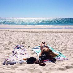 Leighton beach with new friends with wonderful souls ☀️ @tomvanbeem #Padgram