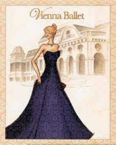 Ballet Posters by Andrea Laliberte at AllPosters.com