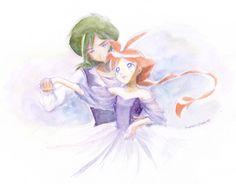 Duck and Fakir in a romantic dance Manga Anime, Anime Art, Princess Tutu Anime, Princesa Tutu, Romantic Dance, Petty Girl, Japanese Animated Movies, Magical Girl, Disney Art