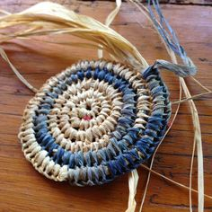 natural and indigo dyed raffia notjustnat creative blog