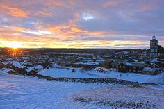 Winter in Røros, Norway