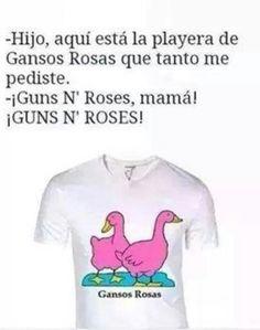 Ganzos rosas! Jajajaja