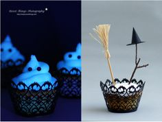 DIY: Halloween Special 3 - Glowing Cupcakes | * Nicest Things: DIY: Halloween Special 3 - Glowing Cupcakes