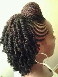 finger twist and corn rows