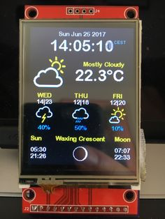 It's been a while since my last post, but I have been working hard on improving the WeatherStation Color. Read here the engineering challenges I had to overcome and how I solved them The first version WeatherStation Color was a big success and I got Iot Projects, Electronics Projects, Projects To Try, Home Automation Software, Smart Home Automation, Projets Raspberry Pi, Esp8266 Arduino, Engineering Challenges, Raspberry Pi Projects