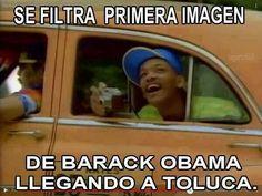 Se filtra primera imagen de Barack Obama llegando a Toluca