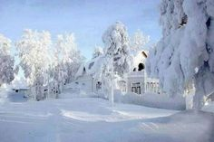 Dreaming of a white Christmas..Zweden
