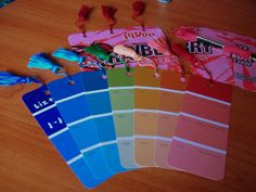 Finished bookmarks - TADA! by Sword in the Stove, via Flickr
