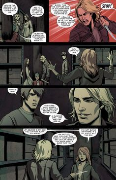 comic page of city of bones,