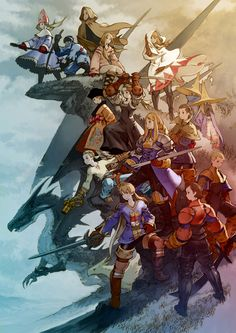 final fantasy tactics, still one of my favorite games to date