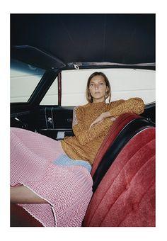 Daria Werbowy in Céline Resort 2015 campaign // Photo by Juergen Teller Daria Werbowy, Juergen Teller, Celine, Look Fashion, High Fashion, Tyrone Lebon, Mode Lookbook, Just Cavalli, Resort 2015