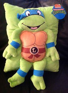 Amazon.com - Nickelodeon Teenage Mutant Ninja Turtles Plush Throw Pillow - Leonardo -