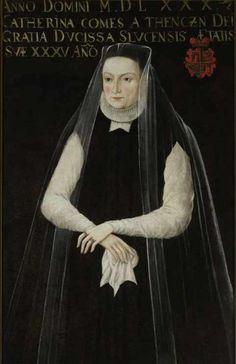 Portrait of Catherina Radziwill née Teczynska (unknown painter)