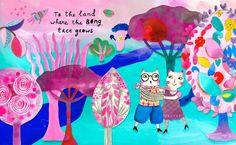 Children's book illustration by Marenthe