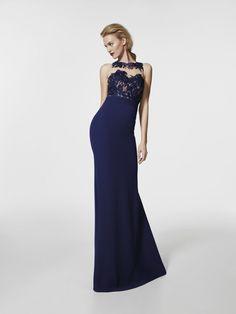 Foto vestido de fiesta azul (62019)