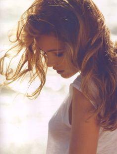 Perfect back lit hair