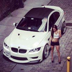BMW E92 M3 white THNXMUM