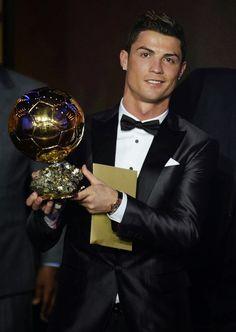 Cristiano Ronaldo Wins FIFA Ballon d'Or Award Wearing Dsquared2 Custom Tuxedo | UpscaleHype